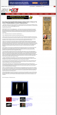 Forex Peace Army -  KHQ-TV NBC-6 (Spokane, WA) - discover power of giving