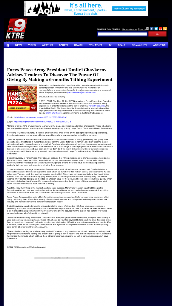 Forex secret news weapon