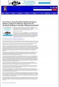 Forex Peace Army -  WBRC-TV FOX-6 MyFox Birmingham (Birmingham, AL) - discover power of giving
