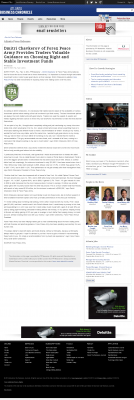 Dmitri Chavkerov -  Atlanta Business Chronicle - considering stable investment options