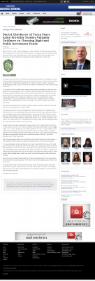 Dmitri Chavkerov -  Chicago Business News - considering stable investment options