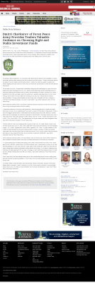 Dmitri Chavkerov -  Dallas Business Journal - considering stable investment options