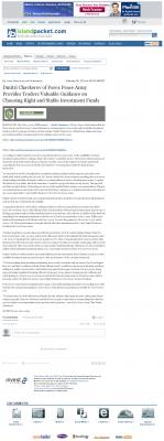 Dmitri Chavkerov -  Island Packet (Bluffton, SC) - considering stable investment options