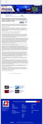 Dmitri Chavkerov -  KBMT-TV ABC-12 (Beaumont, TX) - considering stable investment options