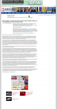 Dmitri Chavkerov -  KIII-TV ABC-3 (Corpus Christi, TX) - considering stable investment options