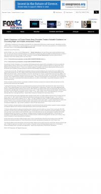 Dmitri Chavkerov -  KPTM-TV FOX-42 (Omaha, NE) - considering stable investment options