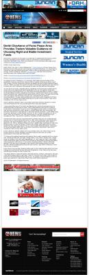 Dmitri Chavkerov -  KSWO-TV ABC-7 (Lawton, OK) - considering stable investment options