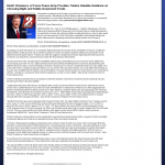 Dmitri Chavkerov - KTVN-TV CBS-2 (Reno, NV)- considering stable investment options
