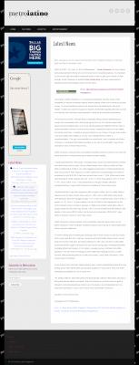 Dmitri Chavkerov -  Metro Latino Magazine - considering stable investment options