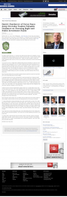Dmitri Chavkerov -  New York Business Journal - considering stable investment options