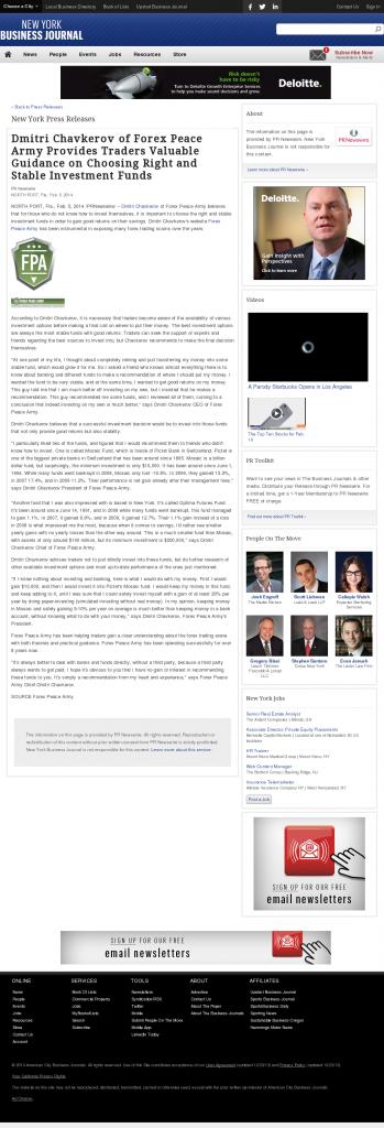 Dmitri Chavkerov - New York Business Journal- considering stable investment options