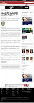 Dmitri Chavkerov -  Orlando Business Journal - considering stable investment options
