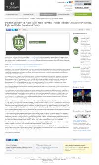 Dmitri Chavkerov -  PR Newswire - considering stable investment options