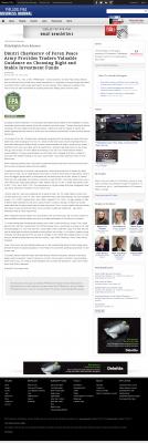 Dmitri Chavkerov -  Philadelphia Business Journal - considering stable investment options