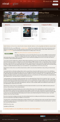 Dmitri Chavkerov -  Strategize Magazine - considering stable investment options