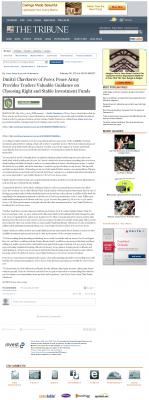 Dmitri Chavkerov -  Tribune (San Luis Obispo, CA) - considering stable investment options