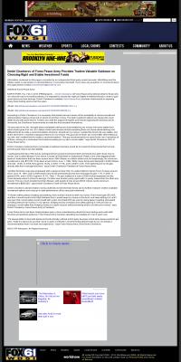 Dmitri Chavkerov -  WDSI-TV FOX-61 (Chattanooga, TN) - considering stable investment options