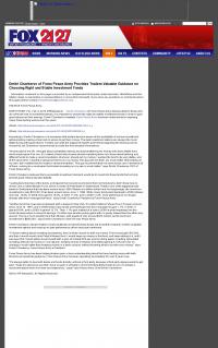 Dmitri Chavkerov -  WFXR-TV FOX-21/27 (Roanoke, VA) - considering stable investment options