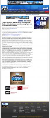 Dmitri Chavkerov -  WWTV-TV CBS-9 (Cadillac, MI) - considering stable investment options