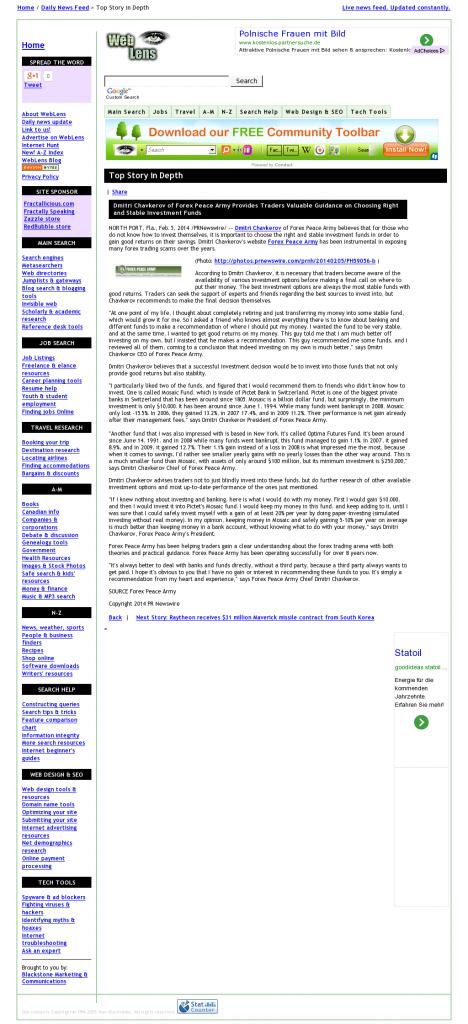Dmitri Chavkerov - Web Lens- considering stable investment options
