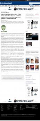 Dmitri Chavkerov -  Wichita Business Journal - considering stable investment options