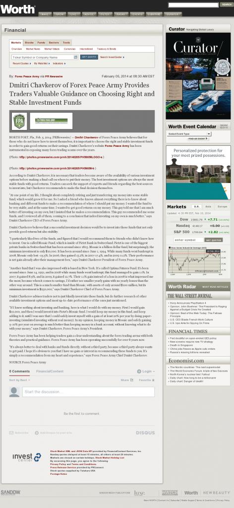 Dmitri Chavkerov - Worth- considering stable investment options