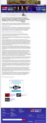 Forex Peace Army -  KMEG-TV CBS-14 (Sioux City, IA) - discover power of giving