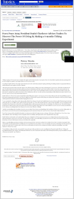 Forex Peace Army -  San Bernardino County Sun (San Bernardino, CA) - discover power of giving