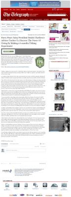 Forex Peace Army -  Telegraph-Macon (Macon, GA) - discover power of giving