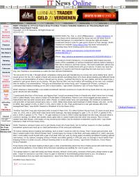 Dmitri Chavkerov -  IT News Online - considering stable investment options