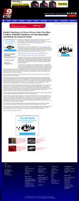 Dmitri Chavkerov -  KTRE ABC-9 (Lufkin, TX) - considering stable investment options