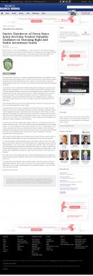 Dmitri Chavkerov -  Nashville Business Journal - considering stable investment options