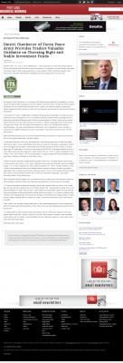 Dmitri Chavkerov -  Portland Business Journal - considering stable investment options