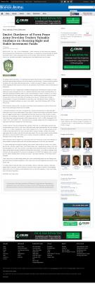 Dmitri Chavkerov -  San Antonio Business Journal - considering stable investment options