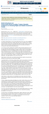 Dmitri Chavkerov -  The Sacramento Bee - considering stable investment options