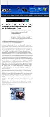Dmitri Chavkerov -  WBOC CBS-16 (Salisbury, MD) - considering stable investment options