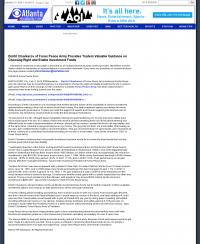 Dmitri Chavkerov -  WGCL-TV CBS-46 (Atlanta, GA) - considering stable investment options
