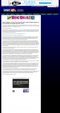 Dmitri Chavkerov -  WMDT-TV ABC-47 /CW-3 (Salisbury, MD) - considering stable investment options