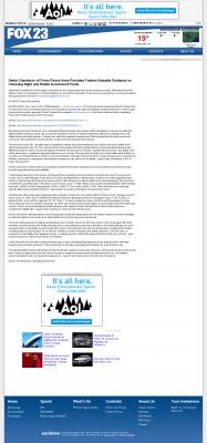 Dmitri Chavkerov -  WPFO-TV FOX-23 (Portland, ME) - considering stable investment options